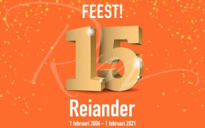 Graag willen wij je feliciteren met de 15e verjaardag van ons netwerk!